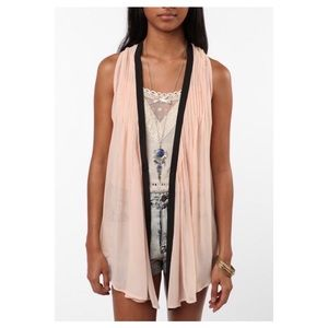 Urban Outfitters, Pins & Needles Chiffon Vest Top.